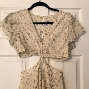 Free people cut out dress size 4